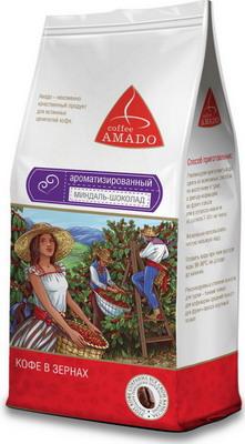 Кофе зерновой Amado Миндаль-шоколад 0 5 кг кофе зерновой amado венская обжарка смесь 0 5 кг
