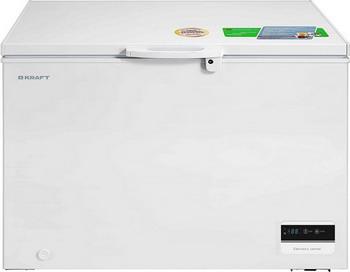 Морозильный ларь Kraft BD (W) 335 BL с дисплеем (белый)