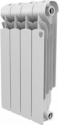 Водяной радиатор отопления Royal Thermo Indigo 500 - 4 секц. радиатор отопления royal thermo pianoforte 500 silver satin 10 секц