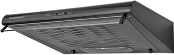 Вытяжка козырьковая MAUNFELD MP 360-S Чёрный вытяжка козырьковая maunfeld mp 350 1 с бежевый