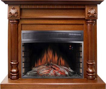 Каминокомплект Royal Flame Edinburg с очагом Dioramic 33 орех flame trees of thika