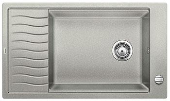 Кухонная мойка BLANCO ELON XL 8 S жемчужный мойка кухонная blanco elon xl 6 s шампань с клапаном автоматом 518741