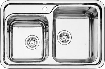 Кухонная мойка BLANCO CLASSIC 8 нерж. сталь c зеркальной полировкой кухонная мойка teka classic 1b 1d lux