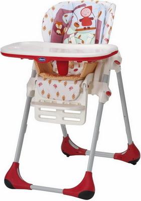 Стульчик для кормления Chicco POLLY 2 в 1 Happy Land 06079074260000 высокий стул для кормления chicco polly happy land
