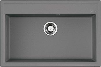 Кухонная мойка OMOIKIRI Daisen 77-GR Artgranit/Leningrad Grey (4993628) смеситель для кухни omoikiri shinagawa gr 4994160 leningrad grey