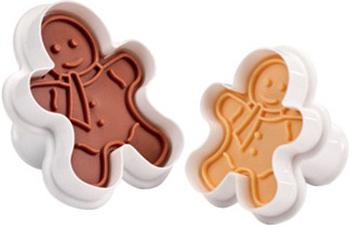 Формочки с печатью для печенья Tescoma DELICIA 2шт фигурки 630858 противень для выпечки tescoma delicia 46 x 30см 623014