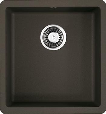 Кухонная мойка OMOIKIRI Kata 40-U-DC Artgranit/темный шоколад (4993395) кухонная мойка omoikiri kata 40 u gr artgranit leningrad grey 4993397