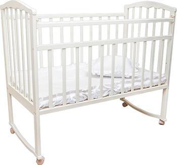 Детская кроватка Агат Золушка-1 Белый обычная кроватка агат 52103 золушка 3 вишня