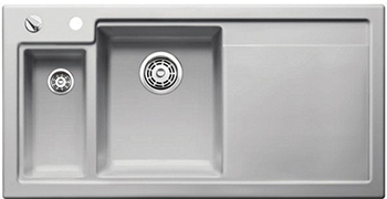 Кухонная мойка BLANCO 524146 AXON II 6 S (чаша слева) керамика серый алюминий PuraPlus с кл.-авт. InFino axon очки elegance ii