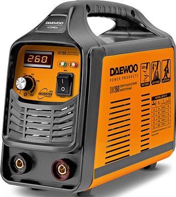 Сварочный аппарат Daewoo Power Products DW 260 сварочный аппарат daewoo dw 160 mma