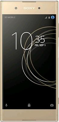 Мобильный телефон Sony Xperia XA1 Plus золотистый мобильный телефон sony xperia xa1 ultra dual sim черный