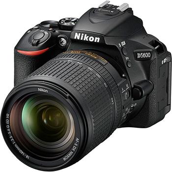 Цифровой фотоаппарат Nikon D 5600 черный KIT 18-140 AF-S VR профессиональная цифровая slr камера nikon d3200 18 55mmvr
