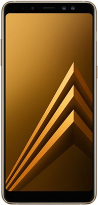 Мобильный телефон Samsung Galaxy A8 (2018) SM-A 530 F/DS золотой new elephone a8 android smartphone 7 0 quad core cpu 5 inch dis hot 17oct25 drop ship f
