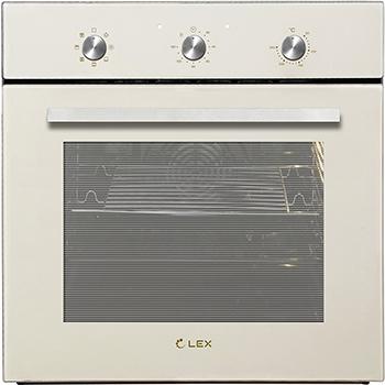 Встраиваемый электрический духовой шкаф Lex EDM 070 IV встраиваемый духовой шкаф midea emr902gb iv бежевый