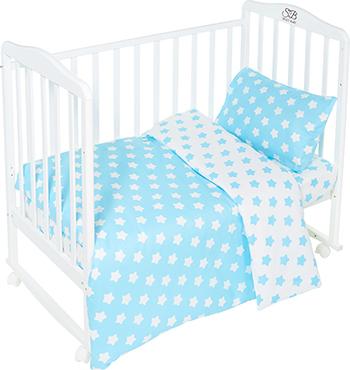 Комплект постельного белья Sweet Baby Stelle Turchese комплект белья из 5 и предметов italbaby polvere di stelle