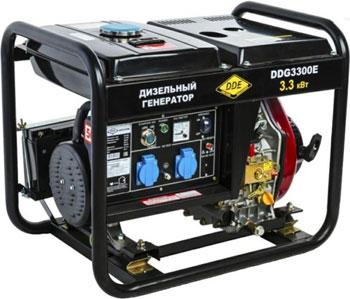Генератор дизельный DDE DDG 3300 E электрический генератор и электростанция dde dpg 10553 e
