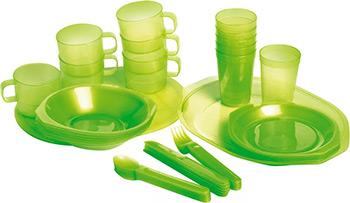 Посуда для отдыха на природе и туризма Forester C 813 на 6 персон в чехле набор посуды для туризма rockland c918 2014