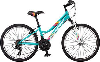 Велосипед Schwinn High Timber S 2449 CINT 24 Girls светло-голубой горный велосипед kawasaki cqtx008 21 24 27 24 26