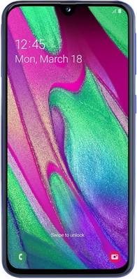 Смартфон Samsung Galaxy A 40 64 GB SM-A 405 F (2019) синий
