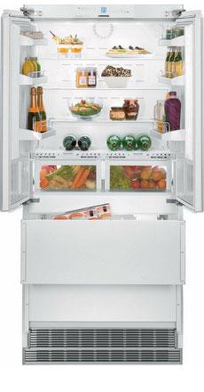Встраиваемый многокамерный холодильник Liebherr ECBN 6256 морозильник pozis fv 115 w