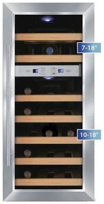 Винный шкаф CASO WineDuett 21 винный шкаф caso wineduett 21 черный