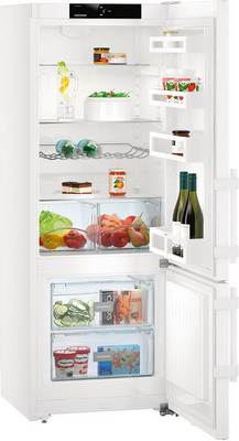 Двухкамерный холодильник Liebherr CU 2915 двухкамерный холодильник liebherr ctpsl 2541