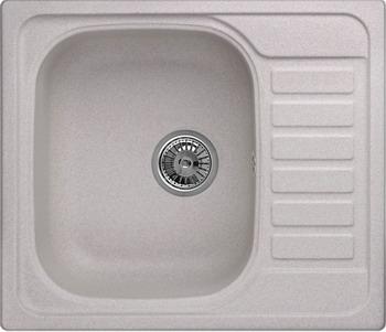 Кухонная мойка Weissgauff QUADRO 575 Eco Granit серый шелк  weissgauff quadro 420 eco granit графит