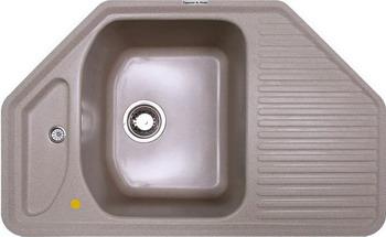 Кухонная мойка Zigmund amp Shtain ECKIG 800 осенняя трава кухонная мойка zigmund amp shtain kaskade 800 осенняя трава