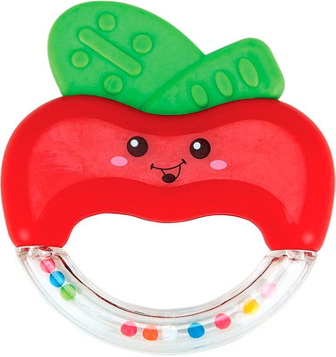 Зубопрорезыватель Happy Baby Apple fun 330305 зубопрорезыватель happy baby silicone teether 20014
