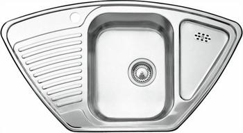 Кухонная мойка BLANCO TIPO 9 E нерж. сталь матовая blanco tipo 8 compact нерж сталь матовая