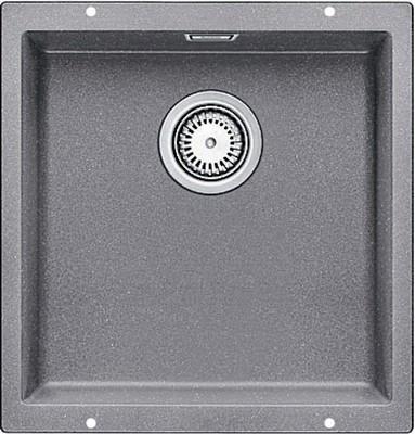 Кухонная мойка BLANCO SUBLINE 400-U SILGRANIT жемчужный с клапаном-автоматом  мойка subline 400 f jasmine 519800 blanco