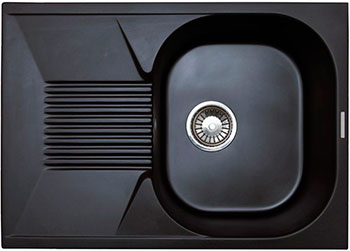 Кухонная мойка LAVA L.2 (LAVA чёрный металлик) lava a 2