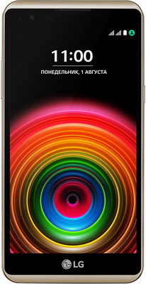 Мобильный телефон LG X Power K 220 DS золотистый смартфон lg k8 2017 x240 золотистый