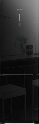 Двухкамерный холодильник Daewoo RNV 3310 GCHB холодильник daewoo fgk51efg двухкамерный серебристый