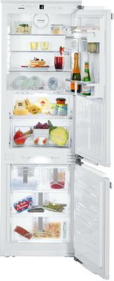 Встраиваемый двухкамерный холодильник Liebherr ICBN 3386 встраиваемый двухкамерный холодильник liebherr icbp 3266 premium