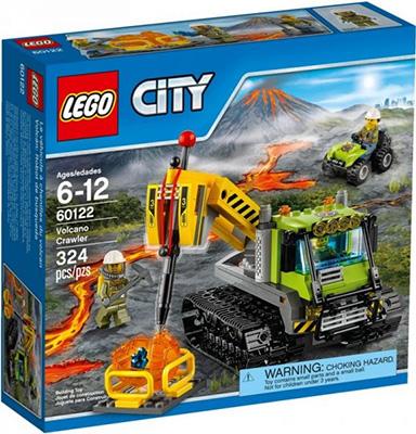 Конструктор Lego CITY VOLCANO EXPLORERS Вездеход исследователей вулканов 60122 lego lego city 60093 вертолет исследователей моря