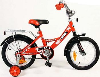 Велосипед Novatrack 14 URBAN красный велосипед novatrack 14 urban чёрный 143 urban bk8