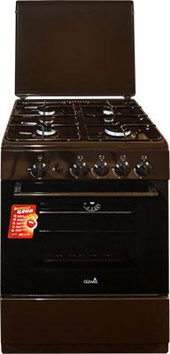 Газовая плита Cezaris ПГ 3100-02 (Ч) коричневый газовая плита cezaris пг 3100 02 ч коричневый