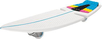 Двухколёсный скейтборд Razor RipSurf разноцветный CMYK 051106 скейтборд 8 колес