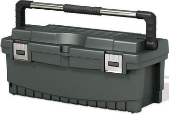 Ящик Keter PRO TOOLBOX 26 черный 17186772 ящик для инструментов keter 22 56х31х28см quik latch pro 38337 22 z01