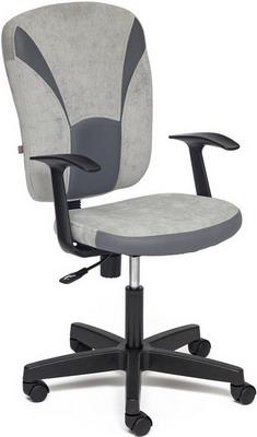 Кресло Tetchair OSTIN (ткань серый/серый Мираж грей/TW-12) офисное кресло tetchair ostin ткань голубой серый 2613 12