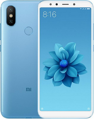 Мобильный телефон Xiaomi Mi A2 4/64 Gb синий
