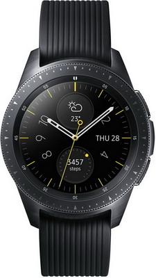 Часы Samsung Galaxy Watch 42 mm SM-R 810 глубокий черный умные часы samsung galaxy watch 46 mm silver sm r800n