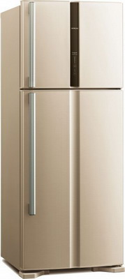 Фото - Двухкамерный холодильник Hitachi R-V 542 PU3 BEG бежевый двухкамерный холодильник hitachi r v 472 pu3 pwh