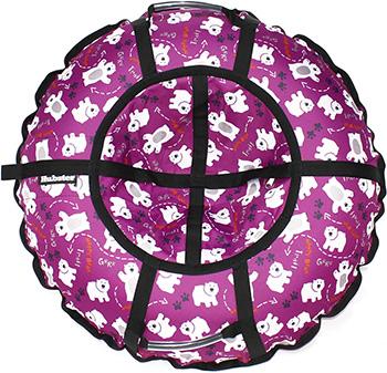 Тюбинг Hubster Люкс Pro Мишки фиолетовые (105см) во5132-2 тюбинг hubster люкс pro карнавал 105см во4962 2