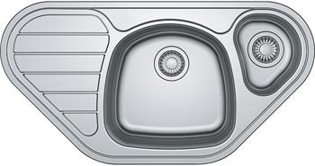 Кухонная мойка FRANKE SKX 651-E 3.5 вентиль 101.0455.945 кухонная мойка franke skx 651 e