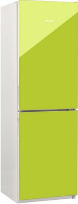 Двухкамерный холодильник Норд NRG 119 NF 642 стекло цвета лайм alteza albero tv 28110 черное стекло лайм