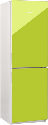 Двухкамерный холодильник Норд NRG 119 NF 642 стекло цвета лайм двухкамерный холодильник норд drf 119 esp a