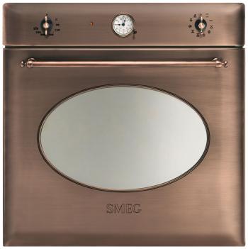 Встраиваемый электрический духовой шкаф Smeg SF 855 RA электрический духовой шкаф smeg sf700po