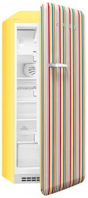 Однокамерный холодильник Smeg FAB 28 RCS1 однокамерный холодильник smeg fab 28 rve1
